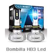 BeiLan Bombilla H7 LED Coche,60W 10000LM Faros Delanteros