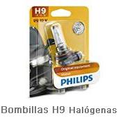 Bombillas-H9-Halógenas