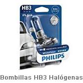 Bombillas-HB3-Halógenas