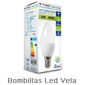 Bombillas-Led-Vela