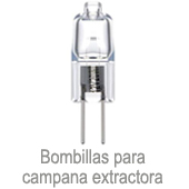 Bombilla campana extractora