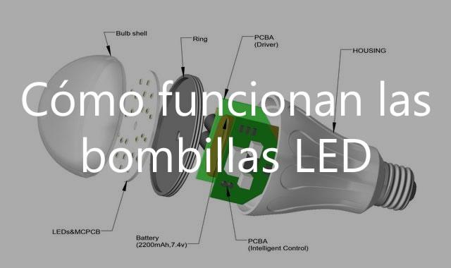 Cómo funcionan las bombillas LED