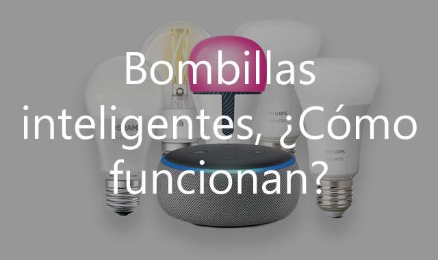 como se usan las bombillas inteligentes