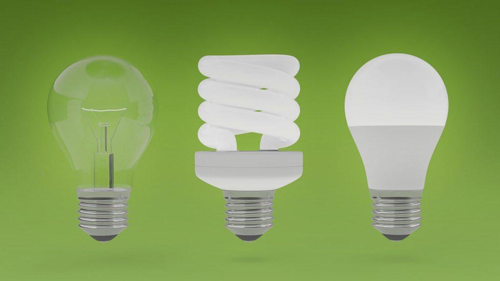 las bombillas que consumen menos
